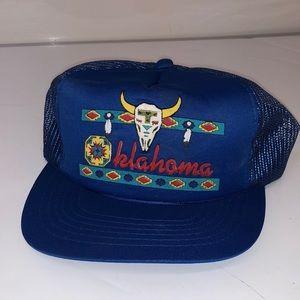 Vintage Deadstock Snapback hat OKLAHOMA